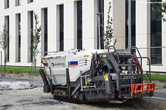 Vögele Super 800-3i (Alexandre Prévot) Tags: construction travaux chantier worksite buildingsite construcción baustellebauplatz cugn grandnancy lorraine