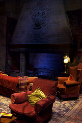 Photo of Gryffindor Fireplace