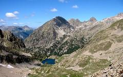 vue sur le lac de Trecolpas et le mont Pelago (b.four) Tags: mountain montagne montagna lacdetrecolpas pelago pasdesladres hautevésubie alpesmaritimes ruby5 ruby10