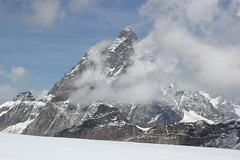 Cervino 4.478 mt (Roberto Tarantino EXPLORE THE MOUNTAINS!) Tags: plateau rosa testa grigia cervino piccolocervino valle daosta breinthorn weisshorn ghiacciaio neve crepacci