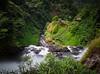 Tad Yuang Waterfall (TeunJanssen) Tags: laos southeastasia asia nd110 longexposure travel traveling backpacking olympus omd omdem10 waterfall waterfalls jungle green pakse pakxe tadyuang bolavenplateau gorge tadgneuang