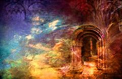 Elemental Door 2017 (jsbanks42) Tags: fantasy fractalflame wallpaper portal texture doorway