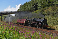 Black Five in Cumbria (garstangpost.t21) Tags: 44871 black5 class5mt beckfoot cumbria