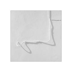 White figures.  ( L´Atmella de Mar ) (José Luis Cosme Giral) Tags: whitefigures minimal texture wall tube 1x1 square marcoblanco minimalismo white canon powershot s100 l´atmellademar tarragona cataluña