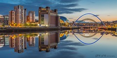 Homeland (Pureo) Tags: newcastle newcastlequayside gateshead gatesheadquayside tyne tynebridge milleniumbridge reflections sage balticarts still clouds sunset northeast longexposure le canon canon6d leefilters bridge dusk england exposure goldenhour iron landscape northeastengland river rivertyne water waterscape