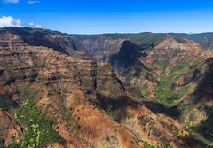 Waimea Canyon, Kauai (benereshefsky) Tags: kauai hawaii island garden gardenisland napali coast ocean beach cliffs green canyon waimea kalalau travelphotography travel travelphotographer helicopter waterfall kokee lookout overlook fins puuokila valley