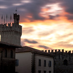 Clouds Bathing in the Colorful Lights of Sunset, Arezzo (Italy) thumbnail