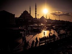 Istanbul (gies777) Tags: türkei istanbul turkey türkiye turquie turchia estambul moschee neuemoschee newmosque mosque yenicami camii olympus omd em5 mft micro four thirds sonne sun gegenlicht