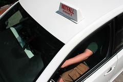 Notfalleinsatz ambulante Pflege Auto