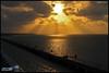 The Bay of Bengal (Rohit_20040) Tags: rameswaram bayofbengal sunset pambanrailbridge pamban