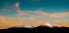 Mount Ngauruhoe Sunset (Mike_Mulcahy) Tags: nz newzealand fuji fujifilm xt1 1855mm volcano sunset tongariro nationalpark northisland mountruapehu mountngauruhoe snow ice colour ©mikemulcahy