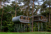 The Treehouse (Jansen, Robert) Tags: lommel limburg belgium pijnven thetreehouse nature architectuur nikon d800 2470mmf28 house autumn