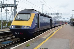 """First Great Western Blue Class 43, 43053 """"University of Worcester"""" (37190 """"Dalzell"""") Tags: fgw firstgreatwestern blue firstgroup brelcrewe intercity125 hst highspeedtrain class43 43053 universityofworcester 43253 didcotparkway"""