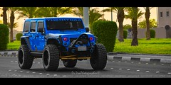 THE HYDRA (dr.7sn Photography) Tags: thehydra hydra hydro hydroblue hassan happy hailhydra hdr hidprojector headlight jeddah jeep jeepwrangler jk jku jeepers jeeplife jeeps wrangler wheels blue bluewrangler bluejeep bodyarmor saudi saudiarabia smile street sahara summer smittybilt stinger nikon nitto mudgrappler 37x1350r22 fueloffroad triton 22x12