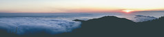 Island Panorama (mripp) Tags: art kunst vintage retro old poster panorama sunsets sky clouds bread sony rx1rii landscape landschaft wolken france frankreich korsika corse cargehese