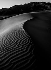 _8100764 (captured by bond) Tags: blackandwhite blackwhite sand sanddunes deathvalley nationalpark mesquiteflatdunes findyourpark fineart shadow capturedbybond california nikon seetheworld flickr landscape