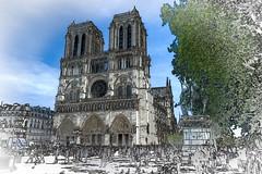 Notre Damme de Paris (PhilHydePhotos) Tags: architecture buildings france isledeparis notredame paris bâtiments