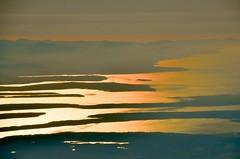 Smokey Sunset (hectic skeptic (Almost back)) Tags: iceland keyflavik seattle washington jet sky clouds smoke