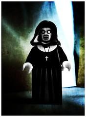 VALAK (LegoKlyph) Tags: lego custom horror monster nun demon conjuring movie dark evil scary demonic slasher paranormal annabelle