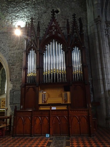Organ in Kilkenny Cathedral