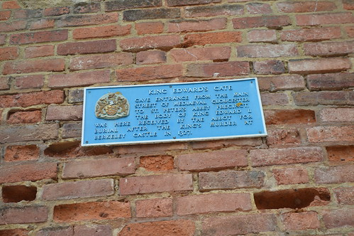 King Edward's Gate plaque