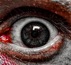 Resident evil 2 revelations My eye (Paulo Mattes) Tags: terror eye closeup close macro reaidentevil2 reaidentevil fearofthedark brazil brasil br rock face mobile galaxys7edge