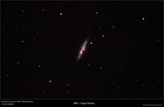 Messier 82 (Myrialejean... thanks for 1M+ views :)) Tags: m82 cigar galaxy ngc3034 messier82 stars night sky black astronomy astrophotography pixinsight canon celestron c8 astrometrydotnet:id=nova2243666 astrometrydotnet:status=solved