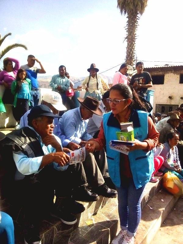 Amashca - Carhuaz: difusión de los Censos Nacionales 2017  - 1
