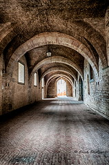 Gubbio_1993-1995_HDR (Brumbaa) Tags: ancient arch architecture builtstructure corridor dark dirty empty europe history indoors medieval nopeople old stonematerial street tunnel umbria underground urbanscene wallbuildingfeature