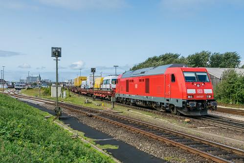 245 027-8 DB Autozug Westerland Sylt 21.08.17