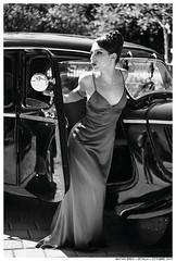 A Time And A Place (Matías Brëa) Tags: mujer woman model modelo coche car vintage retrato portrait blancoynegro blackandwhite bnw byn bw