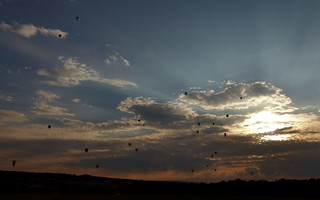 22 Hot-Air Balloons