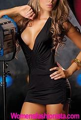 Sexy Temptation Nightwear Dress Women Bandage Deep V Neck Party Club Dresses (black) (womensfashionista) Tags: bandage black club deep dress dresses neck nightwear party partydresses sexy temptation women