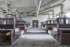 Experimentation (Forsaken Beauty / The Paradox of Human Decadence!) Tags: belgium abandoned education