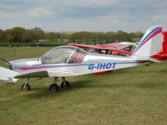 G-IHOT Evektor EV-97 TeamEuroStar (johnyates2011) Tags: popham gihot evektor evektorev97