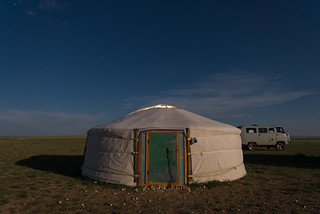 Orkhon valley, Mongolia - Ger