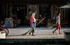 Berat_079 (Brian L55) Tags: albania berat streetsweeper woman