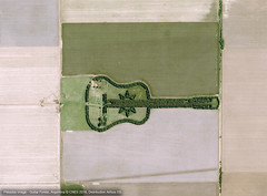 Airbus Defence And Space. Pléiades image - Guitar Florest (2016). Laboulaye, Argentina.