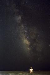 (Boris Zhigun) Tags: greece rhodes fujifilm xmount sky night stars autoportrait hellenic sea water beach milky galactic astrophoto deepspace milkyway prasonisi xe1
