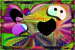 Siguiendo a Arp (seguicollar) Tags: emulandoarp imagencreativa photomanipulación art arte artecreativo artedigital virginiaseguí abstracción abstracto color brillante