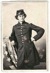 Andy Milice's Second Chance (Ron Coddington) Tags: cartedevisite cdv civilwar indiana andrew staley andy milice 1274 infantry chickamauga jhvanstavoren nashville tennessee
