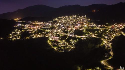 黃金山城-九份夜景