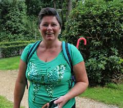 Michelle from Paris (Steenvoorde Leen - 10.7 ml views) Tags: 2017 doorn utrechtseheuvelrug michelle parijs paris tresor portret portrait francaise woman femme frau donna dama