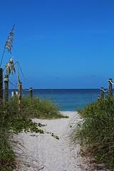 Exclusively Captiva (Michiale Schneider) Tags: beach path sand gulfofmexico captivaisland florida landscape nature michialeschneiderphotography blue white
