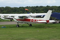 G-GLED (IndiaEcho Photography) Tags: ggled cessna 150 elstree egtr airport airfield aircraft aeroplane aviation civil hertfordshire england canon eos 1000d