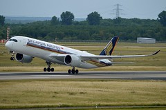 Singapore Airlines 9V-SMM Airbus A350-941 cn/0099 @ EDDL / DUS 16-06-2017 (Nabil Molinari Photography) Tags: singapore airlines 9vsmm airbus a350941 cn0099 eddl dus 16062017