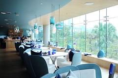 The Ocean, Repulse bay, Hong Kong (ArDisBlossom) Tags: blue finedining hongkong interiordesign restaurant repulsebay theocean