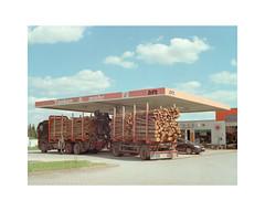 (Dennis Schnieber) Tags: 120mm mittelformat medium format 6 4 5 color film analog lindenberg gas station tankstelle brandenburg