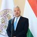 Semjén Zsolt nemzetpolitikáért felelős miniszterelnök-helyettes, a KDNP elnöke m