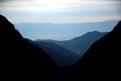 View towards Alazani valley through the mountains (Jelger Groeneveld) Tags: georgia tusheti omalo dartlo kakheti roadtrip caucasus